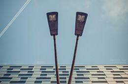 Architektur abstrakt: Mercedes-Benz Bank Berlin