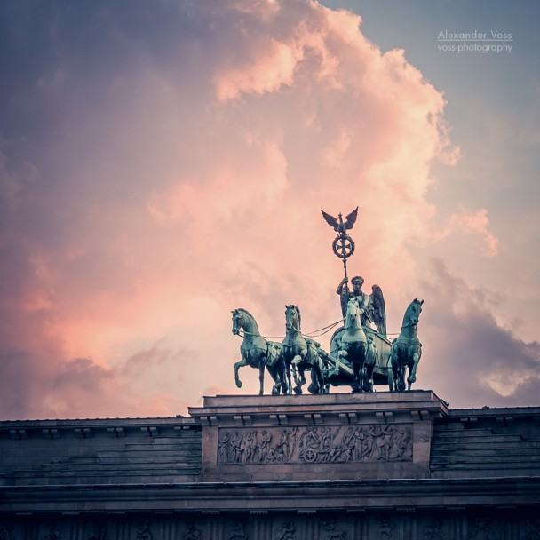 Berlin - Brandenburger Tor / Quadriga