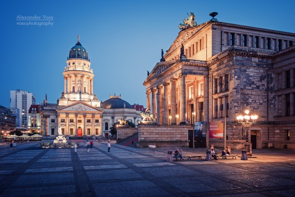 Berlin - Gendarmenmarkt Square