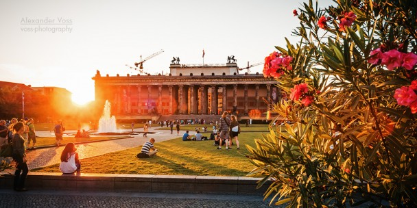 Berlin - Lustgarten / Altes Museum
