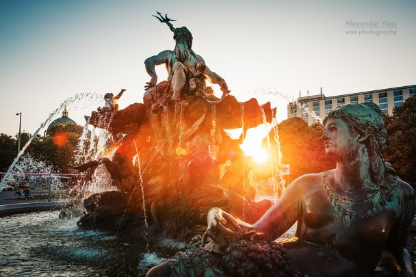 Berlin - Neptune Fountain