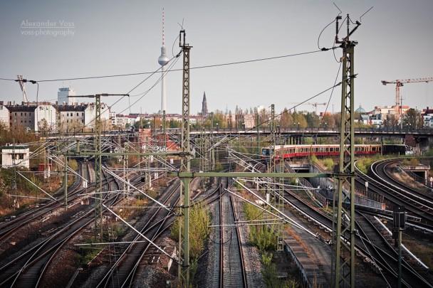 Berlin - S-Bahn-Skyline