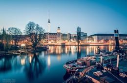 Berlin – Spree-Panorama / Historischer Hafen