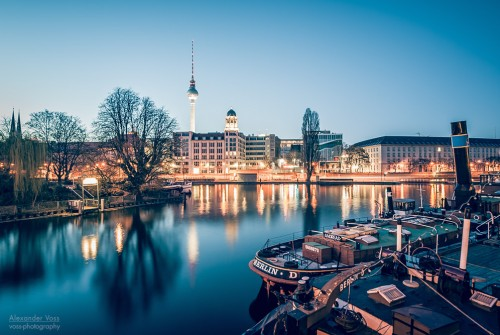 Berlin – Spree River Panorama