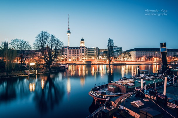 Berlin - Spree River Panorama