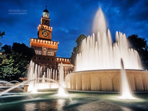 Mailand - Castello Sforzesco