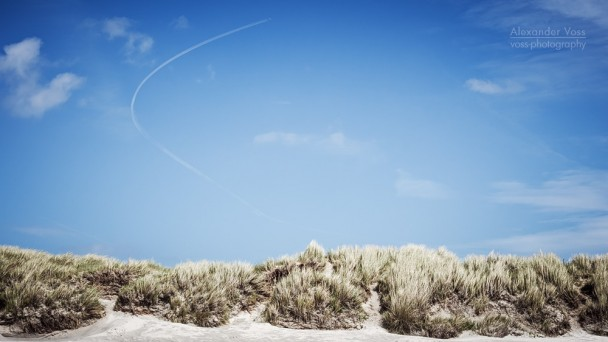 Norderney - Dünen und Himmel