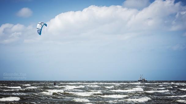 Norderney - Kitesurfen