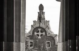 Schwarzweiss-Fotografie: Barcelona – Park Güell
