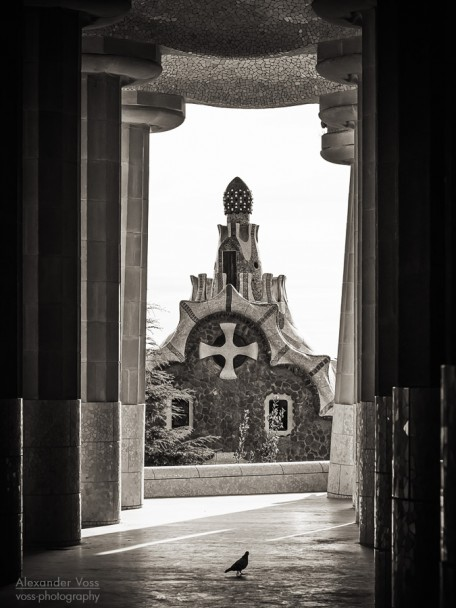 Black and White Photography: Barcelona - Park Güell
