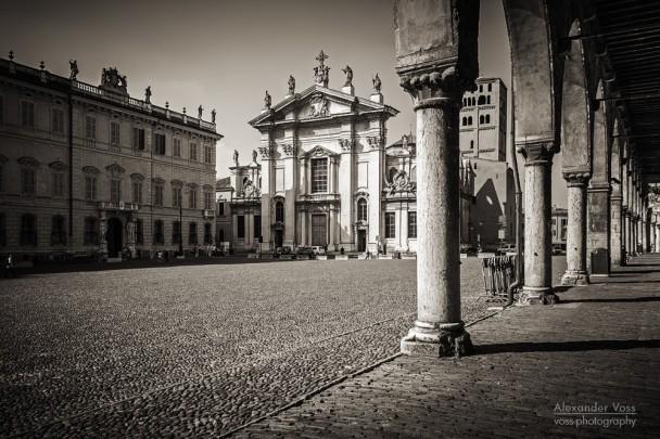 Schwarzweiss-Fotografie: Mantua (Italien)