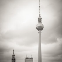Black and White Photography: Berlin – TV Tower
