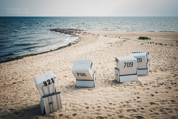 List auf Sylt - Nordsee und Strandkörbe