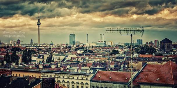 Über den Dächern von Berlin