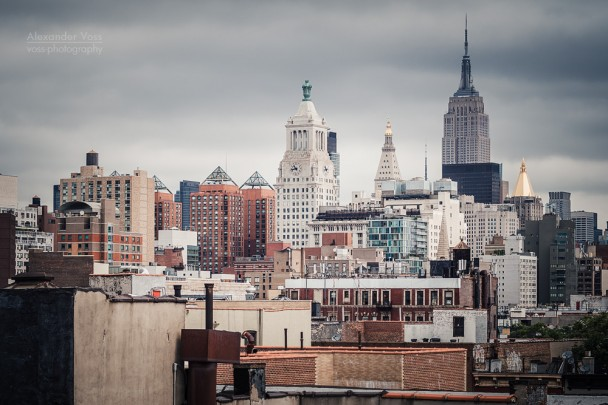 New York City - Rooftop View