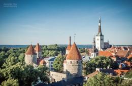 Tallinn – Altstadt-Skyline