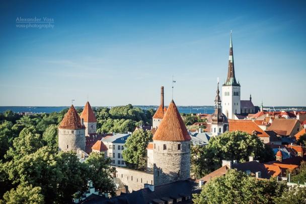 Tallinn - Old Town Skyline