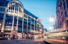 Berlin bei Nacht – Hackescher Markt