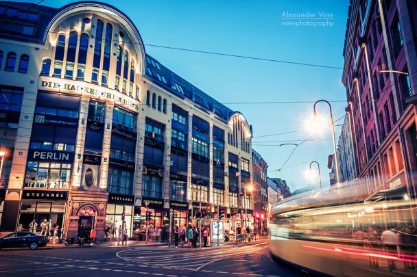 Berlin bei Nacht - Hackescher Markt