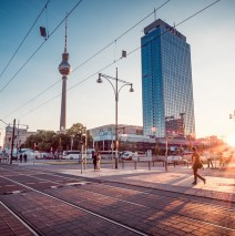 Berlin – Sunset at Alexanderplatz