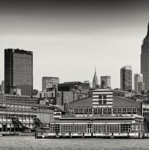 Black and White Photography: New York Skyline