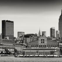 Schwarzweiss-Fotografie: New York Skyline