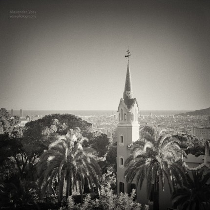 Analog Black and White Photography: Barcelona – Park Güell