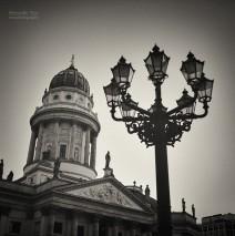 Analog Black and White Photography: Berlin – Gendarmenmarkt Square
