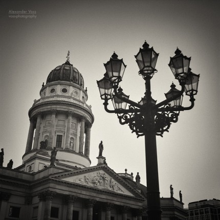 Analog Black and White Photography: Berlin – Gendarmenmarkt Square