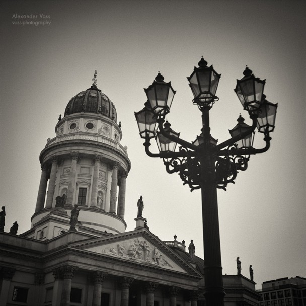 Analog Black and White Photography: Berlin - Gendarmenmarkt Square