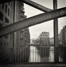 Analog Black and White Photography: Hamburg – Speicherstadt