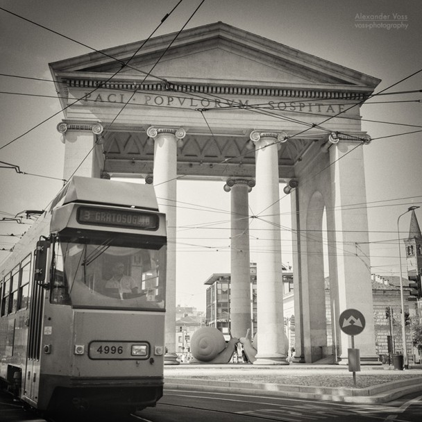 Analog Black and White Photography: Milan - Porta Ticinese