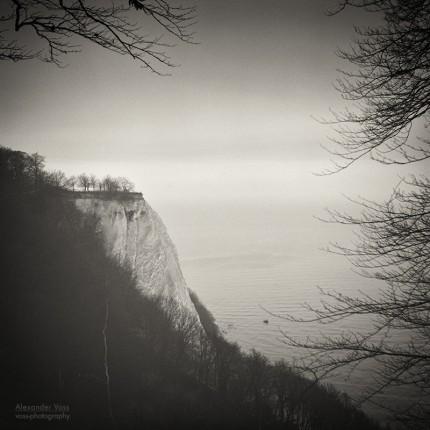 Analog Black and White Photography: Rugen Island – Königsstuhl Chalk Cliff