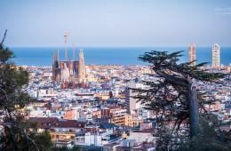 Barcelona – Skyline