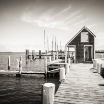Black and White Photography: Martha's Vineyard – Black Dog Wharf