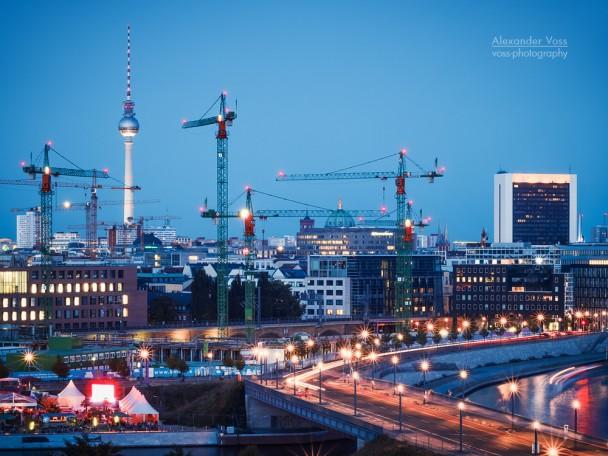 Blaue Stunde in Berlin