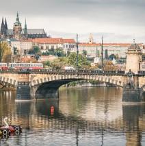 Prag – Moldau-Impression