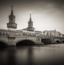 Black and White Photography: Berlin – Oberbaum Bridge