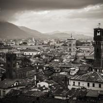 Schwarzweiss-Fotografie: Lucca (Toskana)