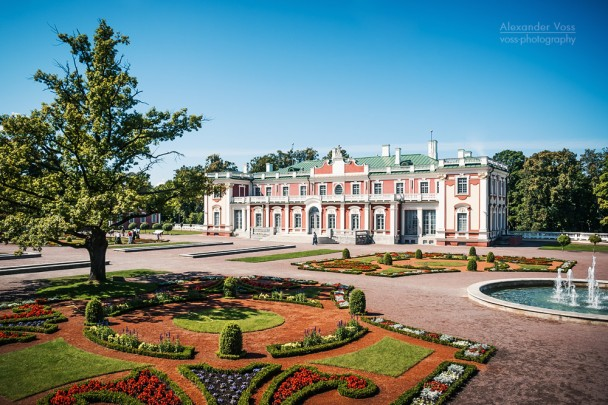Tallinn - Schloss Kadriorg