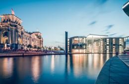Berlin – Panorama Regierungsviertel