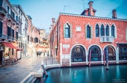 Blaue Stunde in Venedig