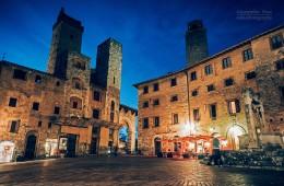 San Gimignano – Piazza della Cisterna