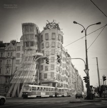 Analog Black and White Photography: Prague – Dancing House