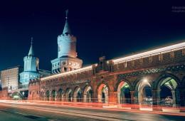 Berlin bei Nacht – Oberbaumbrücke