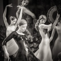 Black and White Photography: Flamenco