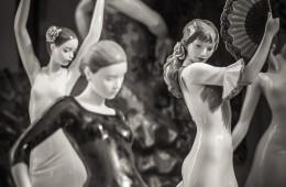 Schwarzweiss-Fotografie: Flamenco