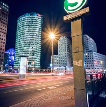 Berlin – Potsdamer Platz Square at Night
