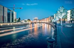 Berlin – Regierungsviertel / Reichstagufer