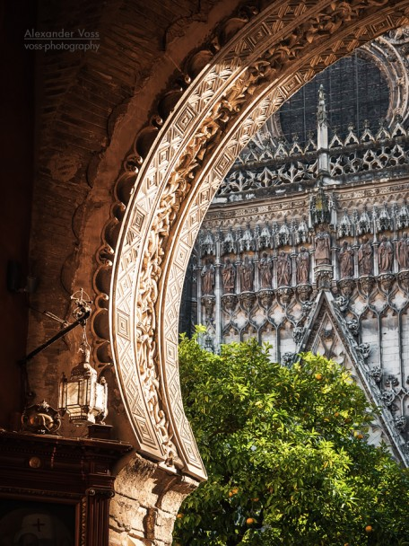 Seville Cathedral - Puerta del Perdón